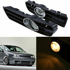 Fit VW Golf 4 GTI MK4 98-06  Fog Lights Lamps Front Bumper Grill w/ Bulbs GZ0806