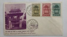 VIETNAM fdc cover 1961 Anniversary Foundation of UNESCO; temple