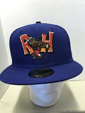 Midland Rockhound Fitted Baseball Hat Cap Size (7 1/2) Blue New