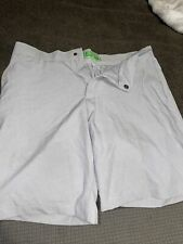 Crown & Ivy Shorts Grey Golf Attire Size 33 Men's Pre Owned