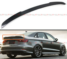 FOR 14-17 AUDI A3 S3 SEDAN V TYPE HIGHKICK CARBON FIBER REAR TRUNK SPOILER WING