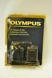 Olympus AC adapter D7AC. Olympus prod. #200850. New old stock.