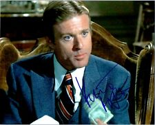 ROBERT REDFORD Signed Autographed THE STING 8x10 Pic. B