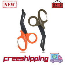 2 Pack Emt Trauma Shears With Carabiner 75 Bandage Scissors Medical
