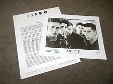 NKOTB Face The Music 1993 Press Kit With 8x10 Promo Photo New Kids On The Block