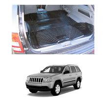 Jeep Grand Cherokee WK 05-10 anti slip rubber boot liner load space mat pair