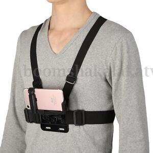 Chest Harness Strap Mount Holder Adjustable Mobile Phone Clip For iPhone Samsung