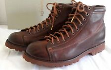 Pantofola d'Oro Brown leather monkey boots Vibram sole EU 41 UK 7