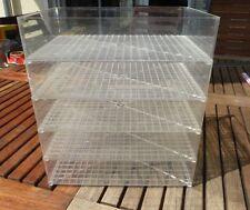 Aufbewahrungsboxen 5 Stück stapelbar für H0 PKW, LKW,PC Modelle Wiking, Herpa,