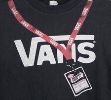 Vans Men's XL Black Warped Tour 2011 Pass Graphic T-Shirt