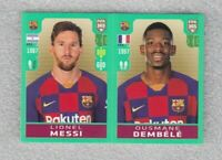 football sticker Lionel Messi Ousmane Dembele FIFA 365 2020 Panini #97