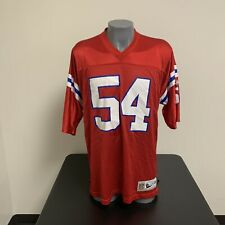 Tedy Bruschi New England Patriots Throwback Jersey Reebok NFL Football Mens 2XL