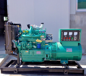 Diesel Generator 24KW 3 phase Military Genset Engine Quiet Standby for Home