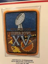 "Oakland Raiders Eagles Willabee Ward NFL Superbowl 15 Patch Rare Vtg 5"" 1981"