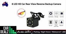 HD Night Vision 8 LED Car Backup Rear View Camera Reverse Parking Waterproof