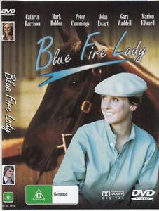 BLUE FIRE LADY DVD - Australian Movie Horse - Cathryn Harrison, Mark Holden