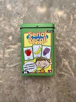 Super Duper Serial Recall Fun Deck Flash Cards