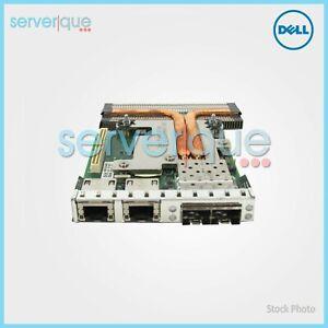 C63DV Dell Intel X520 10Gbp/s SFP+ 1350 Quad-ports Ethernet Daughter Card