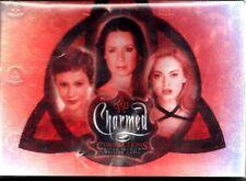 CHARMED CONNECTIONS 2004 INKWORKS COMPLETE FOIL BASE CARD SET OF 72 TV