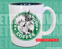 Katsuki Bakugo Kacchan Starbucks Anime Manga my hero Geek Nerd Mug