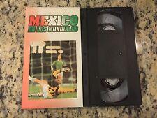 LOS MEJORES MUNDIALES DE FUTBOL #13 MEXICO EN LOS RARE VHS SOCCER HISTORICAL