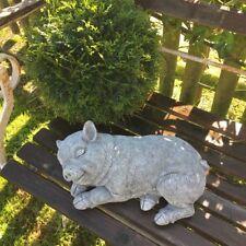 Zwergschwein Garten Dekoration Schweinchen Tierfiguren Schwein, Beton frostfest
