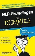 NLP-Grundlagen Fur Dummies Das Pocketbuch by Kate Burton, Romilla Ready...