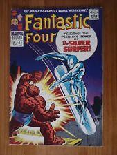 FANTASTIC FOUR #55 1966 SILVER AGE MARVEL COMIC