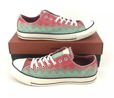 NEW Converse Missoni Chuck Taylor Ox Mens Shoes Sneakers Green Red Size 10.5 NIB