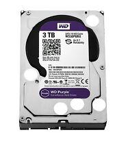 """Western Digital Purple 3TB Surveillance SATA 6Gb/s 64MB 3.5"""" Drive (Internal)"""