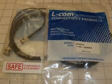 L-Com CC174-7.5 Coaxial Cable RG174 BNC Male/Male Conn BAC836B-74 SP9012 E55