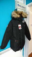 Canada weather gear goose styl Ski Skiing Snow Men mens coat Jacket L black d