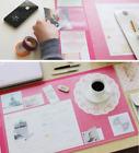 Vintage Designed Desk Mat Ver. 02 Hot Pink by SEESO
