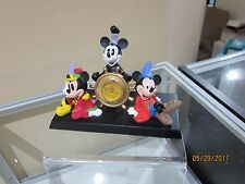 MICKEY MOUSE THROUGH THE YEARS CLOCK MINT NO BOX