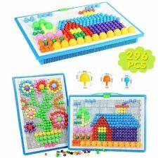 Mosaik Puzzle Spielzeug für Jungen Mädchen Kinder ab 3 Jahre Mosaikstecker DE