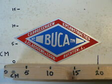 STICKER,DECAL BUCA  CARROSSERIEEN KIPCONSTRUCTIES J CLAESSENS BUCHTEN