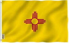 Anley Fly Breeze 3x5 Foot New Mexico State Flag, New Mexico Nm Flags Polyester