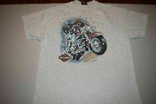 vtg '95 90s Harley Davidson THE GREAT ESCAPE Ft. Walton Beach Florida t shirt XL