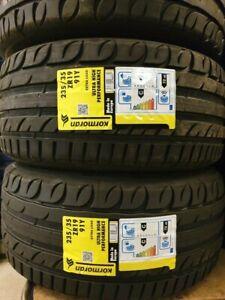 New Car Tyres Kormoran by Michelin UHP 235/35/19 235 35 ZR19 91Y XL 235 35 19