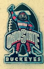 """OSU University of Ohio State Buckeyes Embroidered Iron On Patch 3.5""""x 2"""" RARE A1"""