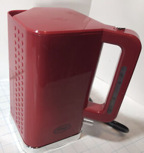 1500W 1.8L Ginnys Electric Kettle RED SQUARE