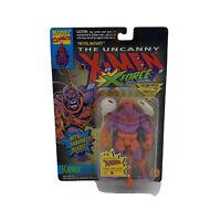 The Uncanny X-Men XForce 1993 Krule Action Figure Evil Mutants Toy Biz rare USA