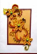 Handmade Paper quilling Greeting Cards Birthday Cards Christmas Cards Thanking