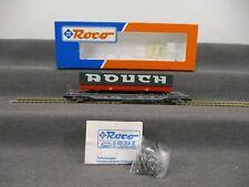 """Roco H0 46357 Güterwagen Taschenwagen der DB mit Ladung """"Rouch"""" in OVP"""