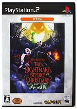 Used PS2 The Nightmare Before Christmas (CapKore) Japan Import (Free Shipping)