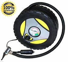260PSI DC 12V Portable Electric Mini Tire Inflator Air Compressor Car Auto Pump