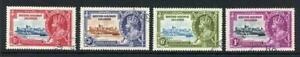 Solomon Islands SG53/56 1935 Silver Jubilee Set Used