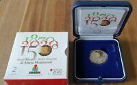 2 Euro Gedenkmünze Italien 2020 * Montessori * in PP - Polierte Platte im Etui