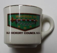 BSA, Vintage Early 1970s Wahissa Lodge 118, Old Hickory Council NC Mug, Clean