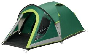 Coleman Tent Dome Tent - Kobuk Plus 3 Person Blackout Bedroom Camping Tents Ou